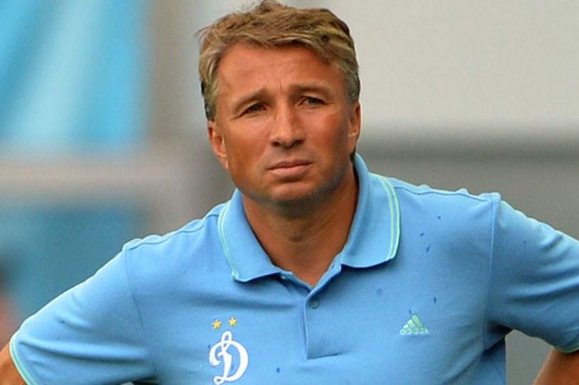 Dan Petrescu tu jako trener Dynama Moskwa /AFP