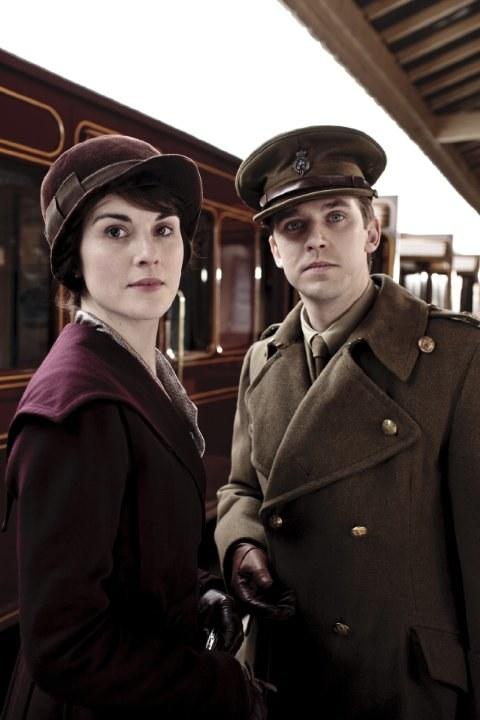 """Dan Stevens jako Matthew Crawley w serialu """"Downton Abbey"""" /Nick Briggs /materiały prasowe"""