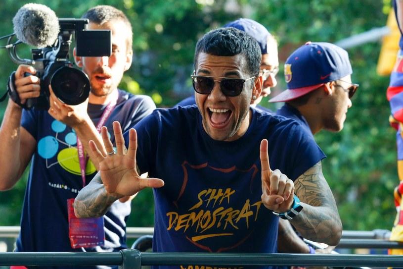 Dani Alves odchodzi z Barcelony /AFP