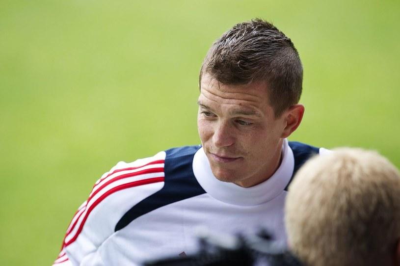 Daniel Agger nie zagra z Polską z powodu kontuzji kolana /AFP