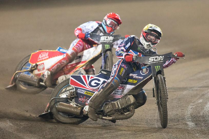 Daniel Bewley w Speedway of Nations /Marcin Karczewski / PressFocus /Newspix