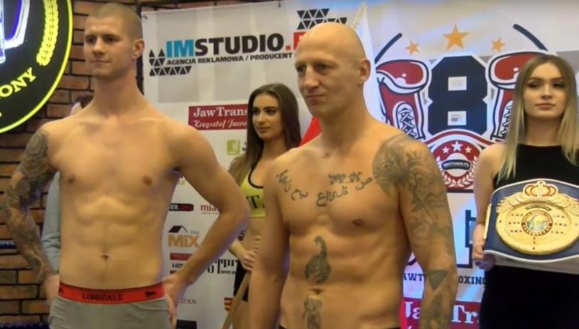 Daniel Bociański (z lewej) i Tomasz Gargula /bokser.org