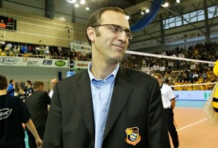 Daniel Castellani ma powody do zadowolenia Fot. Kamil Jóźwiak /Agencja Przegląd Sportowy