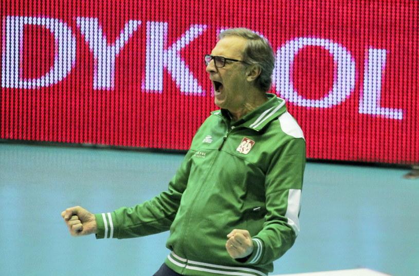 Daniel Castellani mógł cieszyć się ze świetnej gry Indykpolu AZS Olsztyn / PAP/Tomasz Waszczuk /PAP