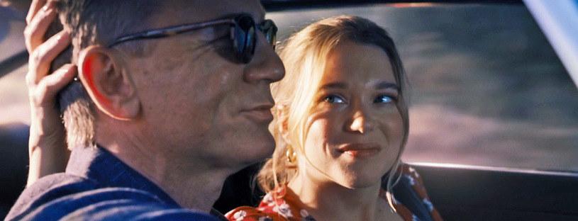 """Daniel Craig i Lea Seydoux w zwiastunie filmu """"Nie czas umierać"""" /Forum Film Poland /materiały prasowe"""