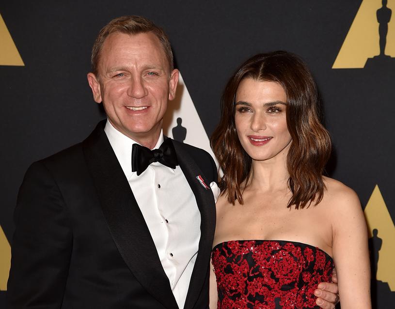 Daniel Craig i Rachel Weisz zasmakują późnego rodzicielstwa /Kevin Winter /Getty Images