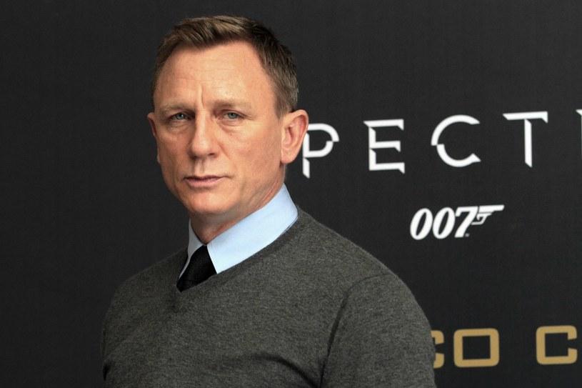Daniel Craig jako James Bond w filmie Spectre /AFP