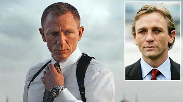 Daniel Craig od czasu, gdy został Bondem, stracił trochę włosów - fot. The Sun /