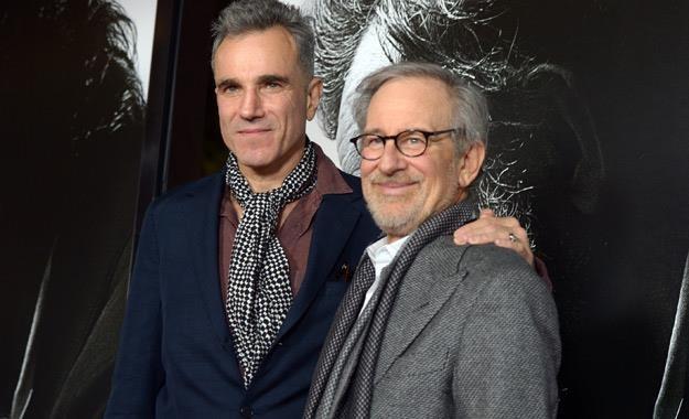 Daniel Day-Lewis i Steven Spielberg, fot. Kevin Winter /Getty Images/Flash Press Media