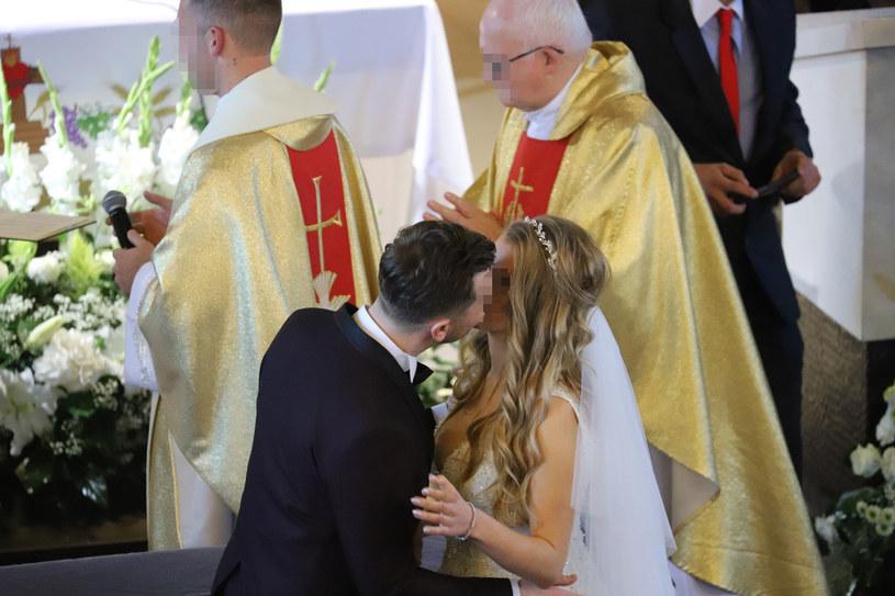Daniel i Ewelina pobrali się w październiku 2018 roku /Anatol Chomicz /East News