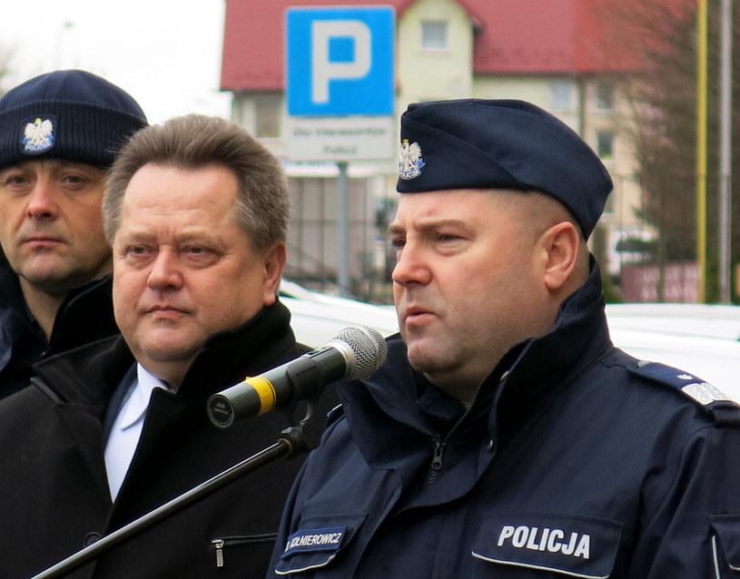 Daniel Kołnierowicz ( z prawej) był jednym z najbardziej zaufanych ludzi Jarosława Zielińskiego (z lewej) /Tomasz Matuszkiewicz/Agencja SE /East News