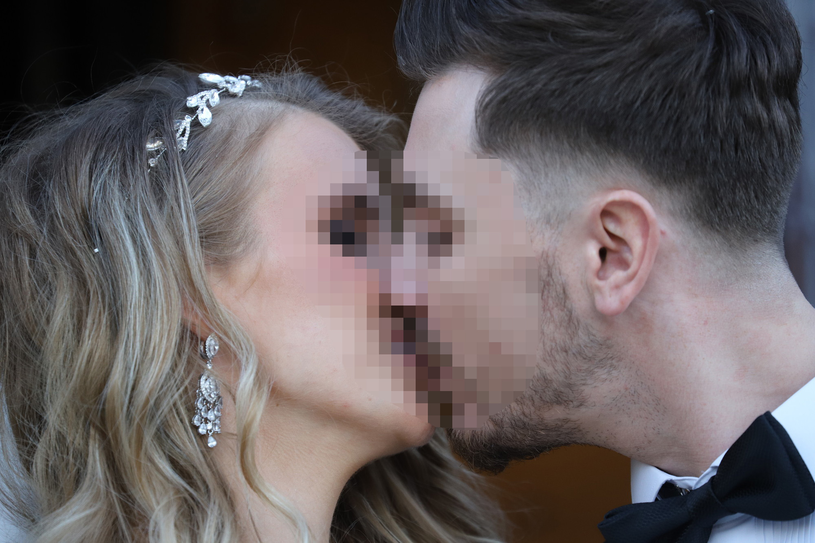 Daniel M. z żoną Eweliną /Anatol Chomicz /East News