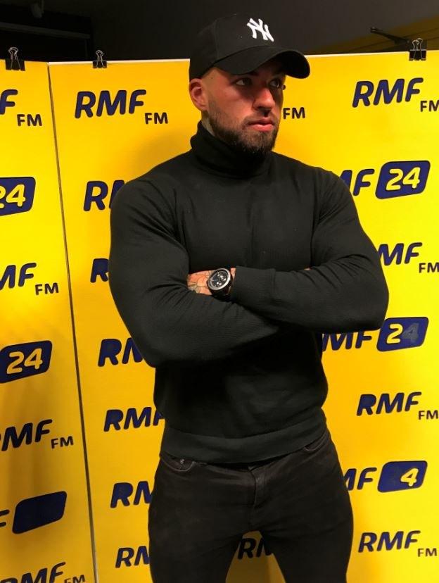 Daniel Majewski w siedzibie RMF FM /Paweł Pawłowski /RMF FM