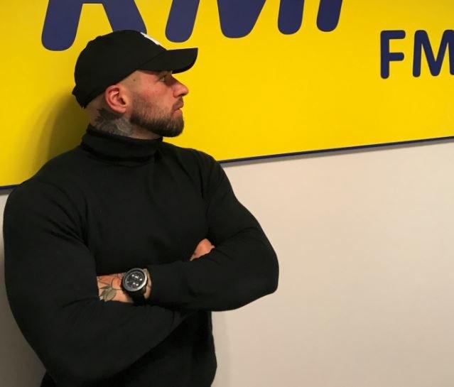 Daniel Majewski w studiu RMF FM /Paweł Pawłowski /RMF FM