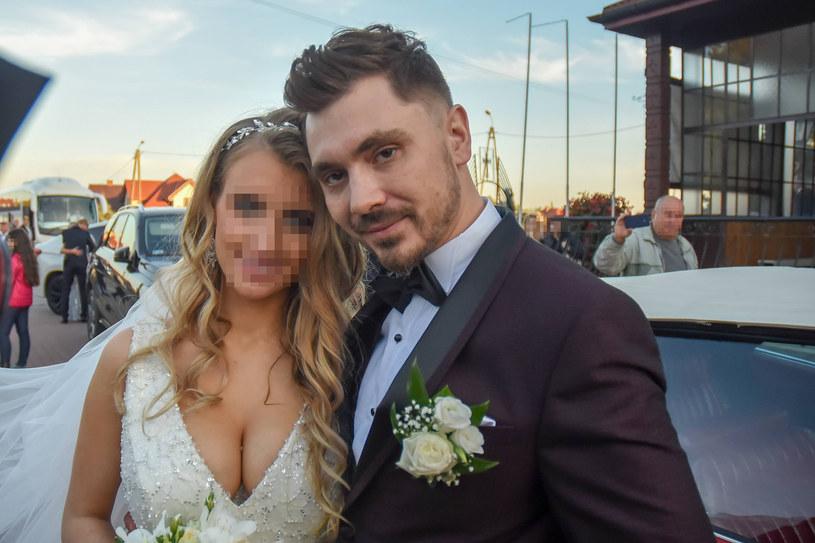 Daniel Martyniuk i Ewelina Golczyńska /Newspix