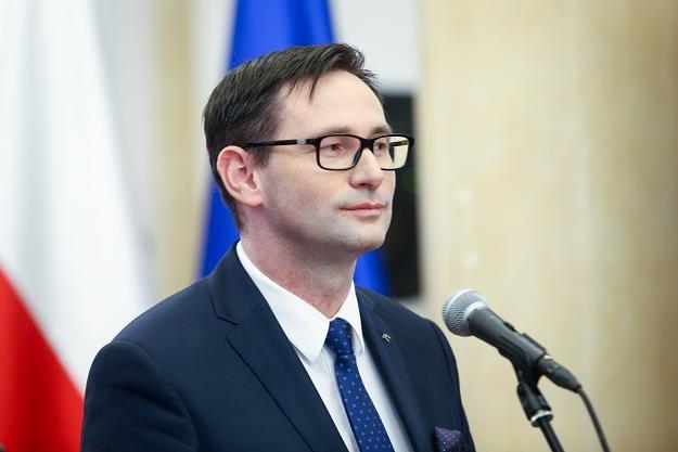 Daniel Obajtek /fot. Tomasz Jastrzębowski /Reporter