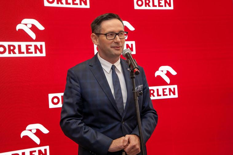 Daniel Obajtek, prezes PKN Orlen, fot. Ireneusz Rek /INTERIA.PL
