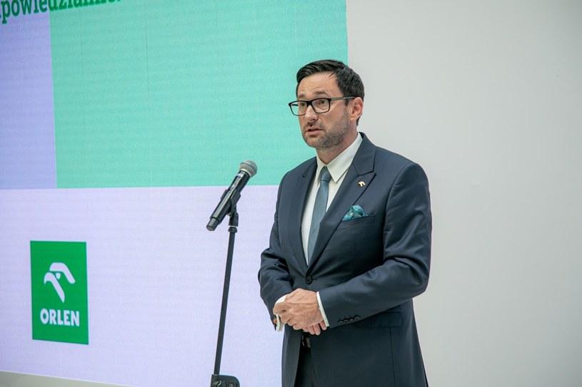 Daniel Obajtek, prezes PKN Orlen /Ireneusz Rek /INTERIA.PL