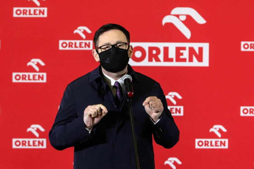Daniel Obajtek, prezes PKN Orlen /Tomasz Kudala /Reporter