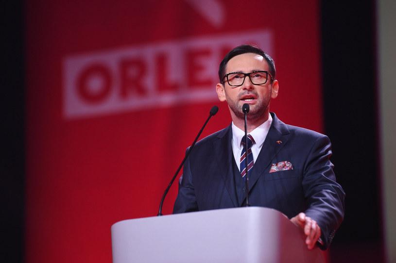 Daniel Obajtek, prezes PKN Orlen /Zbyszek Kaczmarek /Reporter