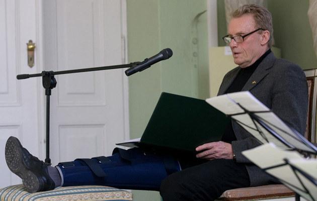 Daniel Olbrychski był gościem Salonu Poezji, fot.Michał Dyjuk