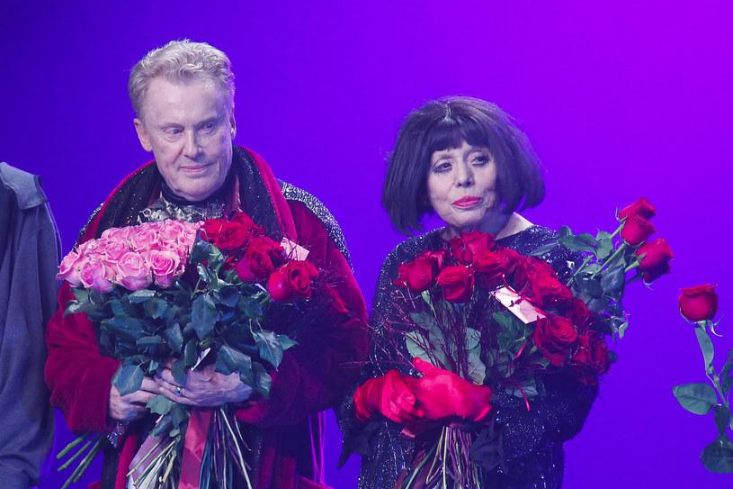 Daniel Olbrychski i Barbara Wrzesińska /- /AKPA