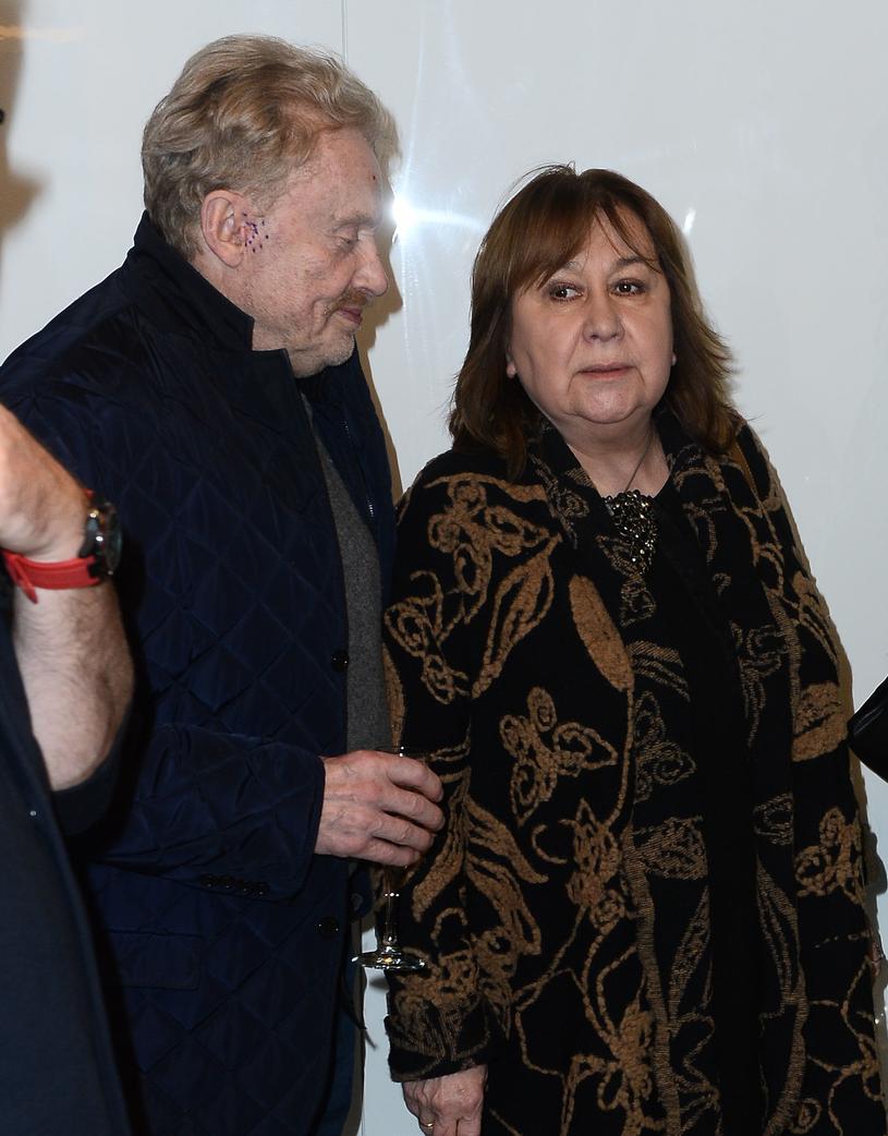 Daniel Olbrychski i Krystyna Demska-Olbrychska /Jarosław Antoniak /MWMedia