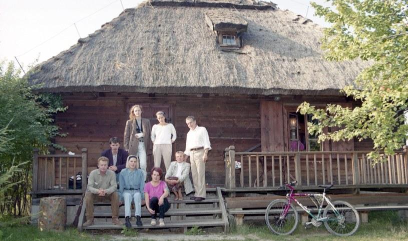 Daniel Olbrychski sprzedaje dom w Mięćmierzu. Zdjęcie pochodzi z 1994 roku /Zenon Zyburtowicz /East News