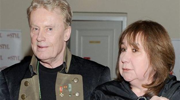 Daniel Olbrychski z żoną, Krystyną Demską /Agencja W. Impact