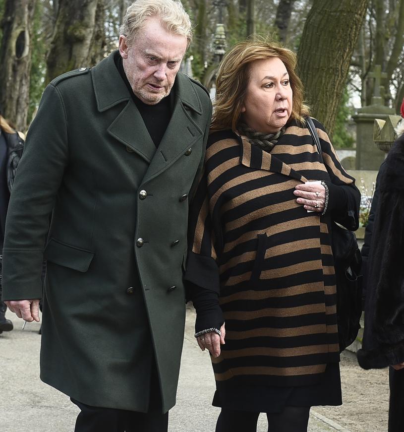 Daniel Olbrychski z żoną /Andras Szilagyi /MWMedia