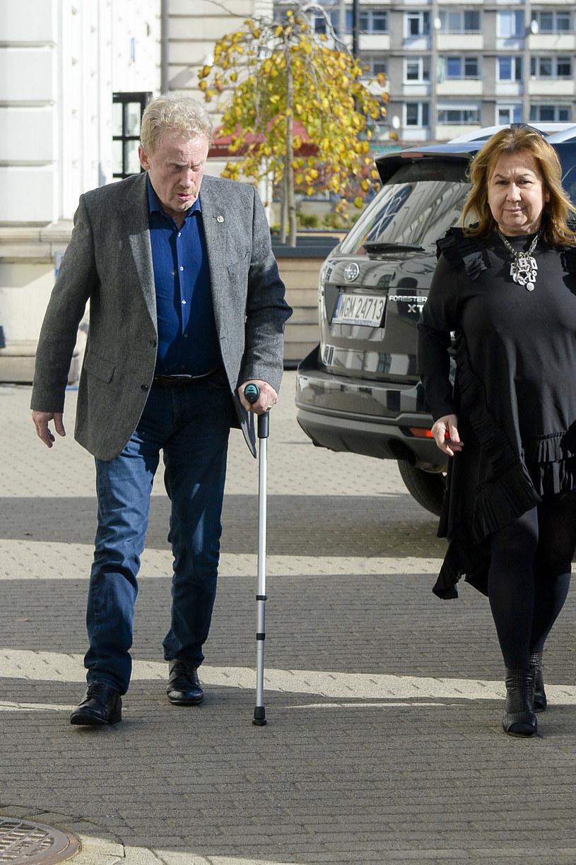 Daniel Olbrychski z żoną /Niemiec /AKPA
