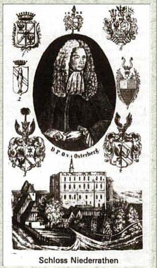 Daniel Paschasius von Osterberg i pałac w Ratnie Dolnym /www.zamki.res.pl /Odkrywca