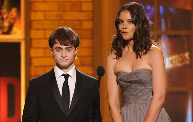 Daniel Radcliffe i Katie Holmes, fot. Andrew H. Walker  /Getty Images/Flash Press Media
