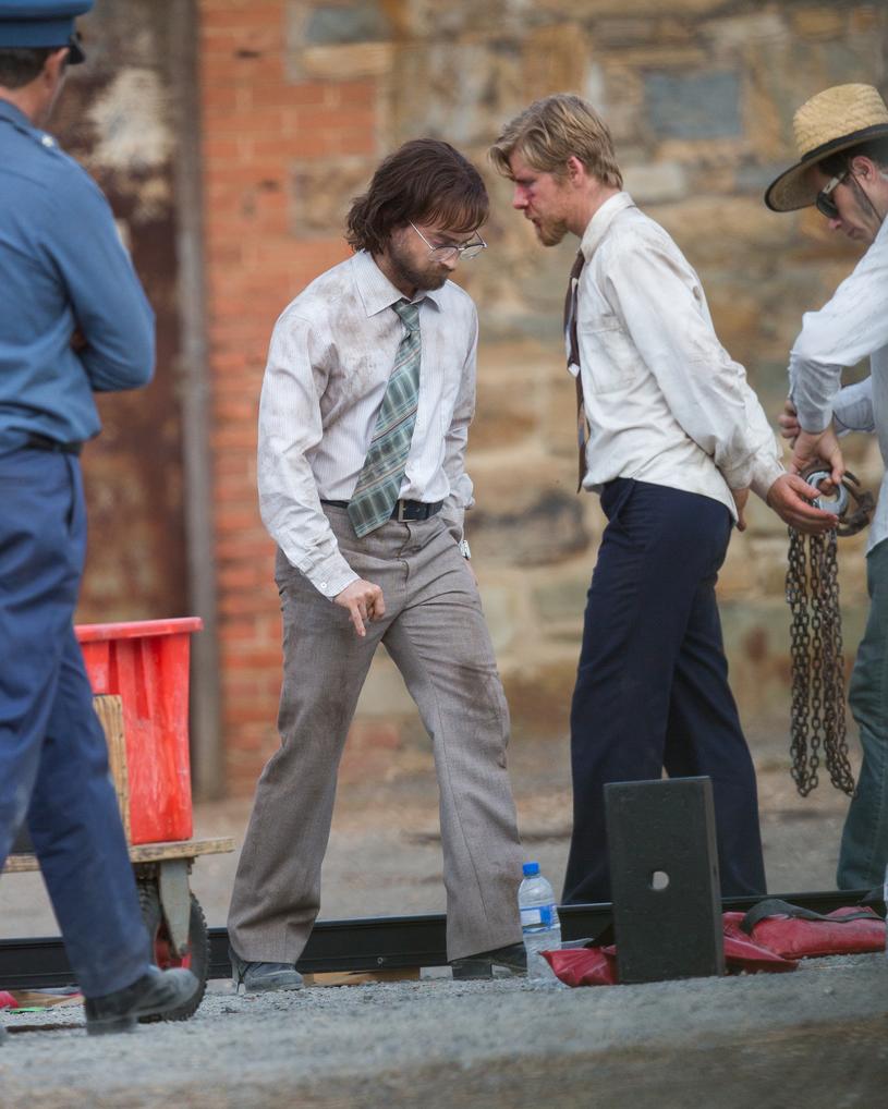 Daniel Radcliffe na planie nowego filmu /Agencja FORUM