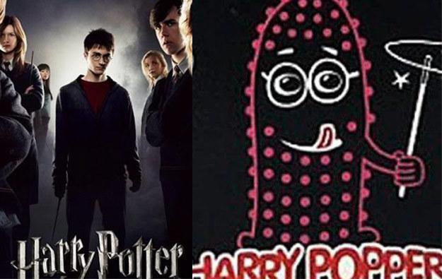 Daniel Radcliffe nie ma przecież wypustek /