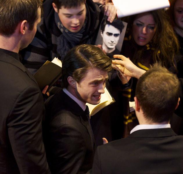 Daniel Radcliffe od najmłodszych lat zmaga się z ogromną presją /Carlos Alvarez /Getty Images