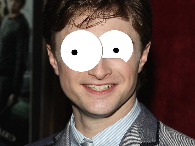 "Daniel Radcliffe w konwencji ""The Simpsons"" /Stephen Lovekin /Getty Images/Flash Press Media"