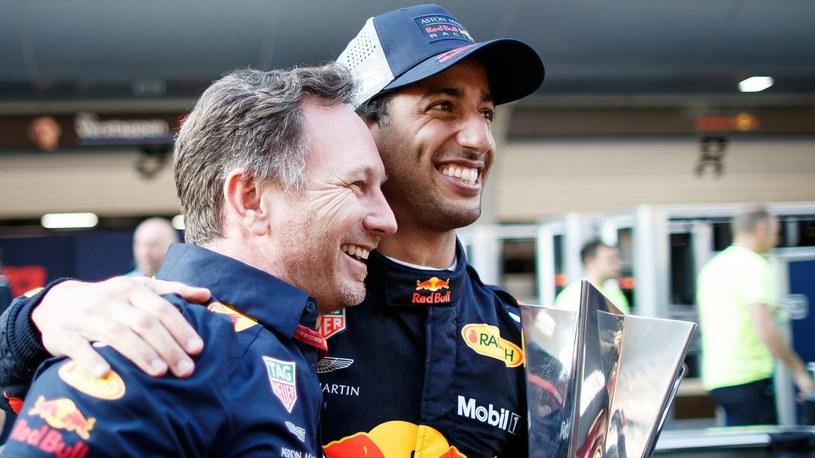 Daniel Ricciardo (z prawej) /Getty Images
