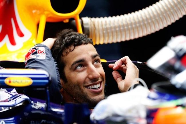 Daniel Ricciardo /PAP/EPA/VALDRIN XHEMAJ /PAP/EPA