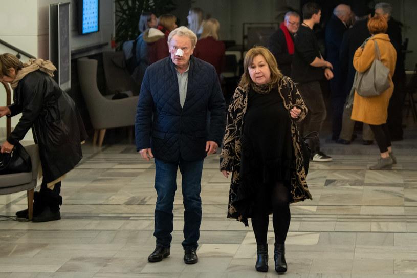 Daniel z żoną /Newspix /Newspix