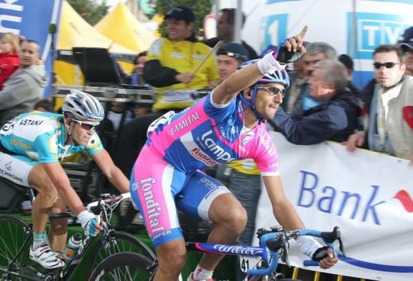 Daniele Bennati imponuje na finiszach w Tour de Pologne /Agencja Przegląd Sportowy