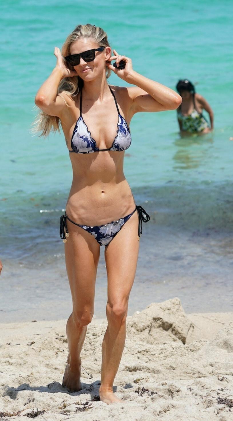 Danielle Knudson zachwyciła w skąpym bikini /Pichichipixx.com / SplashNews.com /East News