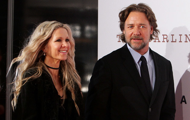 Danielle Spencer, Russell Crowe /Lisa Maree Williams /Getty Images