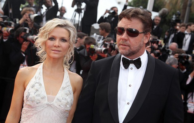 Danielle Spencer, Russell Crowe /- /Getty Images