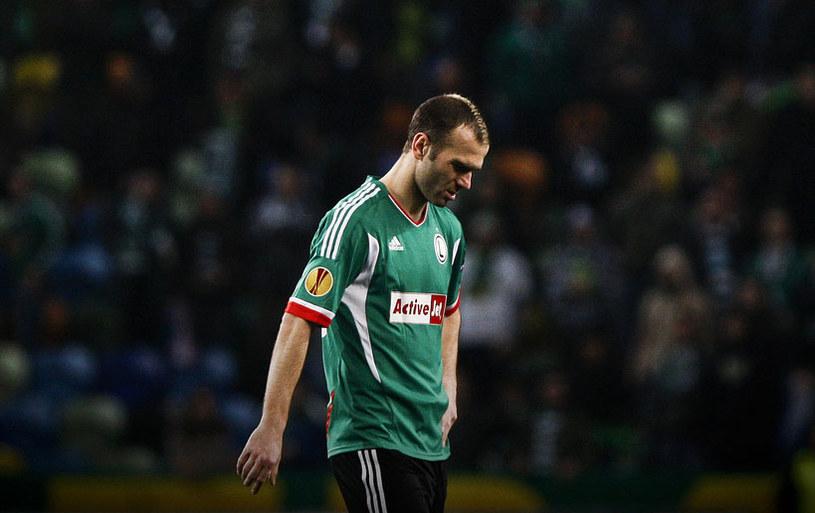 Danijel Ljuboja w barwach Legii Warszawa /AFP