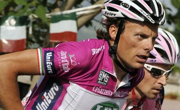 Danilo Di Luca znów został przyłapany na dopingu /AFP