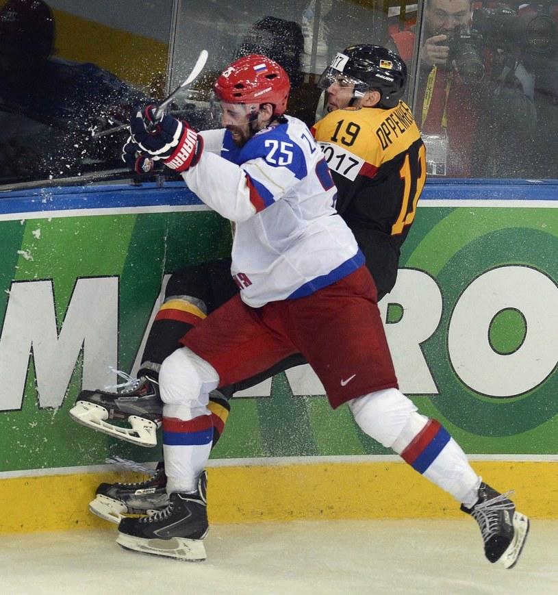 Danis Zaripow (na pierwszym planie) /AFP
