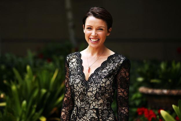 """Dannii Minogue była jurorką w brytyjskim """"X Factor"""" - fot. Graham Denholm /Getty Images/Flash Press Media"""