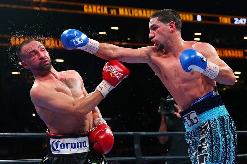 Danny Garcia (z prawej) w walce z Paulie'm Malignaggim /AFP