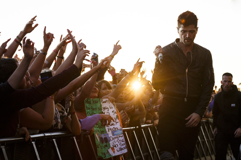 Danny O'Donoghue (The Script) /fot. Tristan Fewings /Getty Images